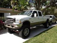 2003 Ford F350 King Ranch in Excellent Condition White