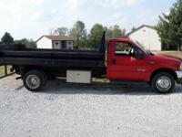 Options Included: Ford F55O Flatbed; 6.0L Turbo Diesel;