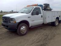 2003 Ford F450 Utility Truck. This is a Southern