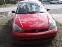 This is a Ford Focus Stationwagon SE. It is an
