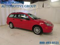 Red and Ready! What a price for an 03! 2003 Ford Focus
