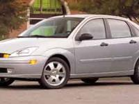 2003 Ford Focus ZTS CARFAX: 1-Owner, Buy Back