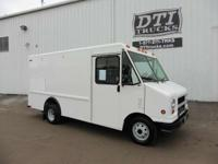 Great Running Gas Step Van With Only 27K Miles. GVWR