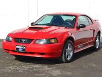 Check out this gently-used 2003 Ford Mustang we