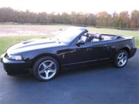 2003 Cobra Convertible,Black, 1982 miles. One owner,