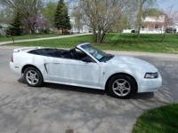 Offered here is a 2003 Ford Mustang Convertible in