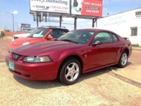 2003 Ford Mustang V6 Coupe for sale! V6 engine 5 speed