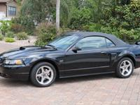 Awesome V8 power in an ultra low mileage Ford Mustang.