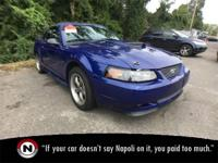 Blue 2003 Ford Mustang GT RWD Automatic 4.6L V8 SOHC
