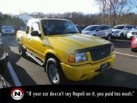 Yellow 2003 Ford Ranger Edge 4WD Automatic 4.0L V6 4.0L
