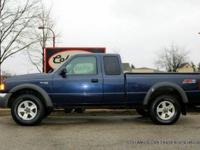 BEAUTIFUL FORD RANGER OFF ROAD FX4 4 WHEEL DRIVE EXTRA