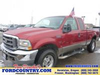 From home to the job site, this Red 2003 Ford Super