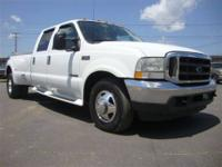 This 2003 Ford Super Duty F-350 DRW Lariat Super Duty