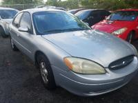Options:  2003 Ford Taurus Ses 4Dr Sedan|Silver|3.0