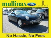 HARD TO FIND 2003 FORD THUNDERBIRD CONVERTIBLE, V8,