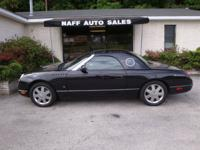 Options Included: N/A2003 Ford Thunderbird Convertible