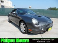 Options Included: N/A2003 Ford Thinderbird, gray with