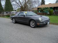 Options:  2003 Ford Thunderbird|Charcoal|53772
