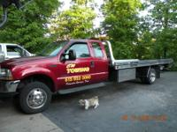 2003 Ford XLT 550 extended cab Rollback, 73 automatic,