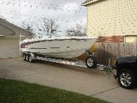 This boat and trailer are in excellent condition. It