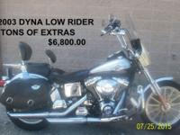 This well maintained carbureted 2003 Dyna Low Rider has