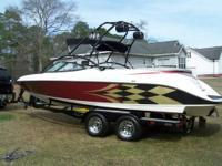 Up for sale is a 2003 Gekko Revo 7.1 Wakeboard boat in