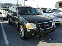 New Price! Onyx Black 2003 GMC Envoy XL SLT 4WD 4-Speed