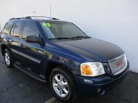 Options:  2003 Gmc Envoy 4Wd 4D Wagon Slt|Blue|Air