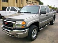 2003 GMC Sierra 2500 2WD Extended Cab Vin: