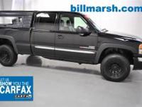 Duramax 6.6L V8 Turbo Diesel, 4WD, Black, ABS brakes,
