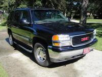 2003 Black GMC Yukon SLE - approx. 135,000 miles Asking
