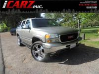 Our 2003 GMC Yukon is sized right for large family