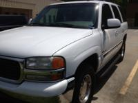 2003 White GMC Yukon SLT New Michelin Tires w Tow
