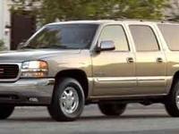 2003 GMC Yukon XL Clean CARFAX. 4WD.  Options:  3.73