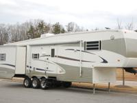 This is a Prairie Schooner PLATINUM 5th wheel. This 37'