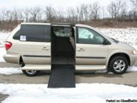 This is a 2003 Handicap Accessible Dodge Grand