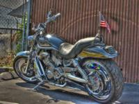 This is a 2003 100th Anniversary V-ROD. I had a blue