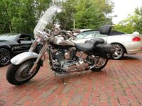 100th Anniversary edition. 2003 Harley with 2,974