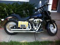 Very sharp 2003 Harley Heritage Classic that we changed