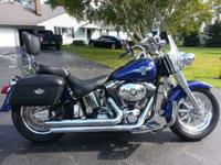 This is a very rare find! A 2003 Harley Davidson Fat