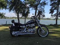 I am marketing a very good black 2003 Harley Davidson