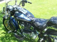 2003 Anniversary Harley Davidson Fat-Boy- - Gun Metal