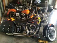 2003 Harley Davidson FLSTS Heritage Springer. 2003