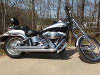 2003 Harley Davidson FXSTDI Softail Deuce Cruiser.