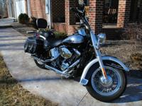 This Softail Classic has been well taken care of,