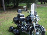 2003 Harley Heritage Softtail. This is the 100