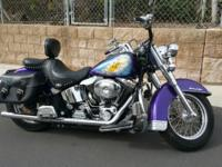 2003 Custom Harley Davidson Softail. 100th Anniversary