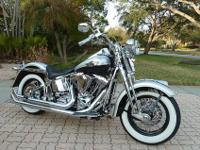 2003 HARLEY-DAVIDSON FLSTS SOFTAIL HERITAGE SPRINGER IN
