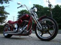 2003 Custom Harley Davidson Softail Springer This bike