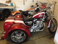 This TRIKE is a Headturner!!! Custom body and Paint